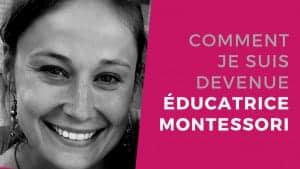 éducatrice montessori - ma reconversion