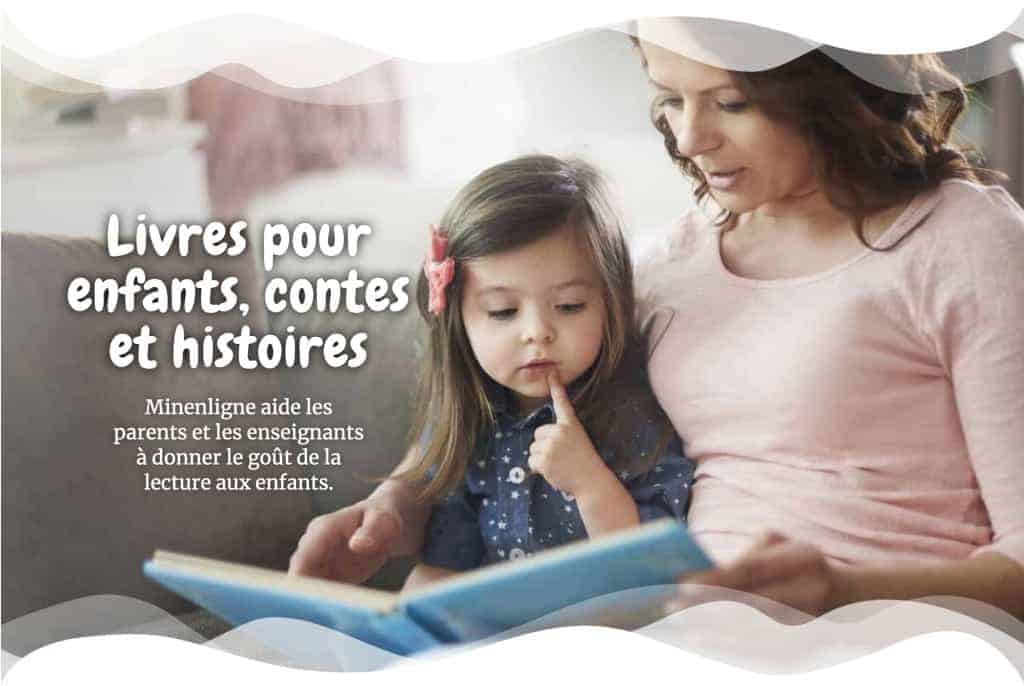 Livres pour enfants, contes et histoires