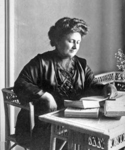 Maria Montessori étudiant