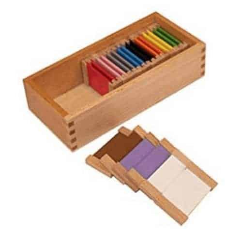 Montessori-Store Deuxième boîte de Couleurs Haut de Gamme