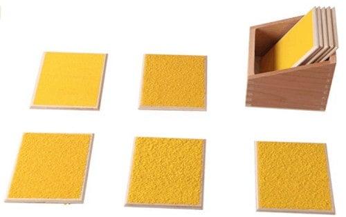 Montessori-Store Tablettes Rugueuses